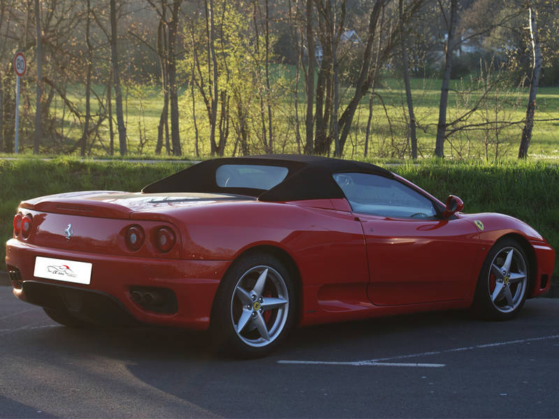 2000 Ferrari 360 Spider Related Infomationspecifications Weili