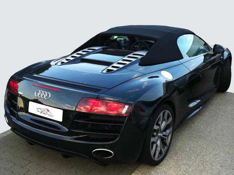 ck cabrio manufaktur f r cabrioverdecke audi r8 spyder verdeck ab 2010. Black Bedroom Furniture Sets. Home Design Ideas
